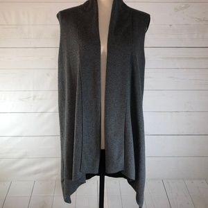Calvin Klein Drape Cardigan Sweater Size Small